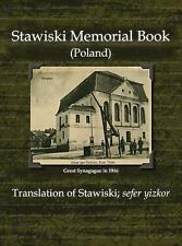 Stawiski Memorial Book (Poland) - Translation of Stawiski; Sefer Yizkor...
