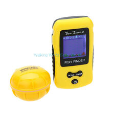 Portable Wireless Fish Finder Fishing Depth Sonar Sensor Alarm Radar Depth Probe