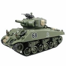 15 Channel 1 20 Rc Tank Usa Sherman M4a3 Main Battle Tank Model