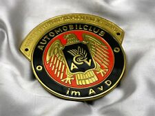 Old German Badge ACV Plakette1970 Emblem Classic Plaque Porsche Mercedes VW #268