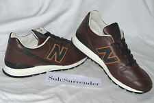 New Balance 996 Horween Leather - SIZE 9.5 - M996BRN Bespoke Crooners Collection