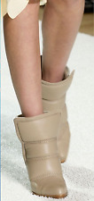 SUPPER BEAUTIFUL!!! CHLOE 'Devon' Runway QUILTED  BLACK ANKLE BOOTS EU 36 US 6