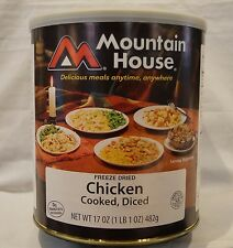 Mountain House Freeze Dried #10 Can, CHICKEN DICED COOKED Emergency Camp Food