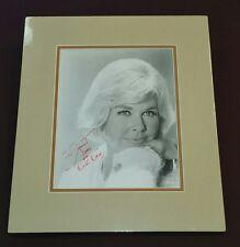 """ Doris Day"" / Custom Matted Autographed Photo."