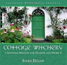 Cottage Witchery New Book Journal Natural Magic Protect Home Hex signs Spells