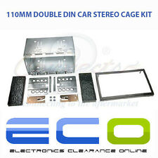 Universal 110mm Car Stereo Facia Fascia Double Din 2 Din Cage Fitting Kit