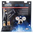 Harris HX-6MC Inferno Air-Fuel Kit Quick Connect MC Acetylene Hose Connections