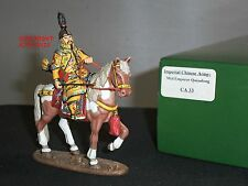 KING AND COUNTRY CA33 IMPERIAL CHINESE ARMY EMPEROR QUIANLONG MOUNTED FIGURE