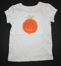 New Gymboree Halloween Ruffle Pumpkin Tee Top Size 12-18m NWT Halloween Shop