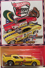 "Hot Wheels CUSTOM '78 CORVETTE FUNNY CAR ""Snake & Mongoose"" RR LTD 1/25 Made!"