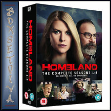 HOMELAND  - COMPLETE SEASONS 1 2 3 & 4 **BRAND NEW DVD BOXSET ***