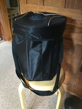 "New The Bag Factory Foldable Stool Cooler. 14""x10"". Very Handy& Comfy.  Black."
