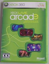 Xbox 360 LIVE ARCADE DISC Only -Professionally Cleaned! Others for sale!