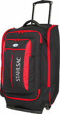 Stahlsac Caicos Cargo Pack Wheeled Scuba Diving Roller Travel Gear Bag Red