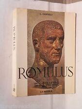 ROMULUS Luciano Castelli La Scuola Editrice 1966 Antologia latina Classici di e