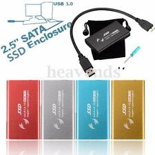 "1.8"" mSATA USB 3.0 External Enclosure Converter SSD Case Caddy Box For Mac OS X"