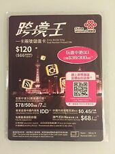 CHINA UNICOM CROSS BORDER KING DUAL-NUMBER PREPAID SIM CARD