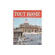 TOUT ROME ET LE VATICAN/PUCCI 150 PHOTOS plan 1973 TBE
