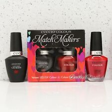 CUCCIO Veneer Match Makers - MAINE LOBSTER 6023 Gel Soak Off & Lacquer Duo Kit