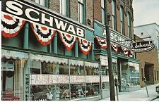 "Memphis TN ""A. Schwab Department Store"" Postcard Tennessee  *FREE US SHIP"