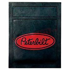 "Peterbilt Motors 24"" x 30"" Heavy Duty 3/8"" Semi Truck Mud Flaps-Pair"