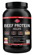 Olympian Labs Beef Protein ISOLATE Chocolate. 456 gr/1 Lb, (4042)
