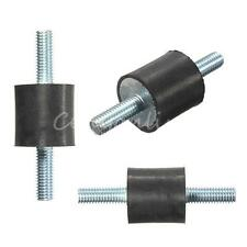 "New Threaded Rubber Vibration Isolator Mounts 1/4-20 (3/4"" x 3/4"") M6 20 x 20mm"