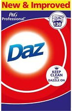 Daz Washing Powder 130 Wash Washes Large Box Laundry Powder P and G Professional