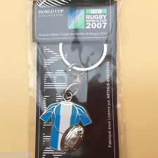 NO Pin's RUGBY coupe monde 2007 Arthus Bertrand Porte clés Keychain Argentine ?
