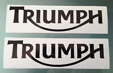 Fairing / Tank Decal Stickers for Triumph (Any Colour)