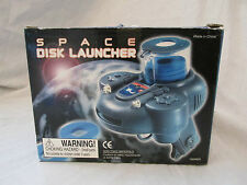 BRAND NEW SPACE DISK LAUNCHER LAUNCHES FOAM DISKS 20 FT 10 DISKS