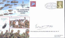 AF23c PARA Airborne Territorial Army cover signed FM Sir Roland Gibbs DSO MC