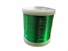 OLDE FLY SHOP ROD BUILDING METALLIC THREAD 100YDS SIZE A   GREEN #YC123