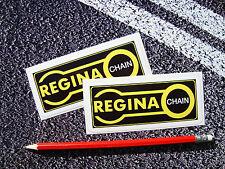 Regina chain stickers 11cm moto/moto gp superbikes sprocket suzuki
