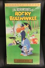 Rocky and Bullwinkle La Grande Moose VHS Animated Children Cartoon Buena Vista