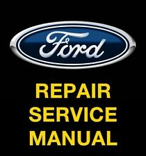FORD FUSION 2006 2007 2008 2009 SERVICE REPAIR MANUAL