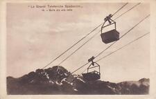 X155) GRANDI TELEFERICHE SPADACCINI, CARRELLI SULLE VETTE PIU' ALTE.