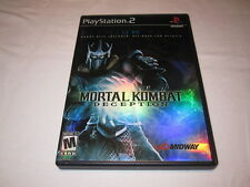 Mortal Kombat Deception Premium Pack (Playstation PS2) Complete w/Card Nr Mint!