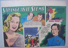 Strange As It Seems: June Allyson, Leslie Fenton, Fred Mac Murray Hix 5/13/1945