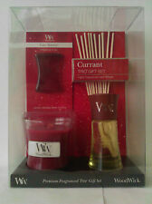WoodWick Trio Gift Set  Currant
