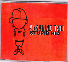 Alkaline Trio - Stupid Kid - Deleted UK 3 track CD (red insert)