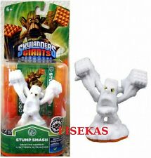 Skylanders Giants White Snow Flocked Stump Smash Figure Variant Rare 2013 NEW