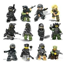 SWAT The Wraith Assault Special Force 12pcs/set Building Blocks Brick Model Toy