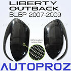 Carbon Fiber Car Side Mirror Cover For Subaru Outback Liberty BL BP 2007-2009 TU