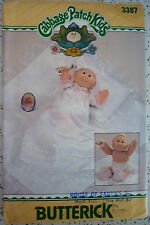 VINTAGE 1985 BUTTERICK 3387 SEWING PATTERN CABBAGE PATCH PREEMIES CLOTHES UNCUT