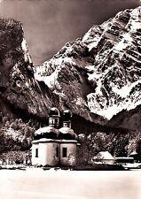 St. Bartholomä mit Watzmann , Ansichtskarte , 1964 gelaufen