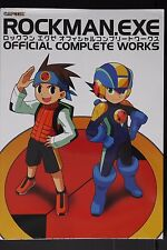 JAPAN NEW Mega Man Art Book: Rockman EXE Official Complete Works (New Edition)