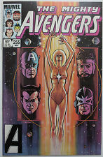 The Avengers #255 (May 1985, Marvel) Vision Scarlet Witch Starfox (C2799)