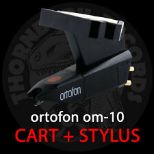 Ortofon OM-10 Turntable Cartridge with Elliptical Stylus