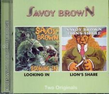 "Savoy Brown:  ""Looking In / Lion's Share""  (2on1 CD Reissue)"